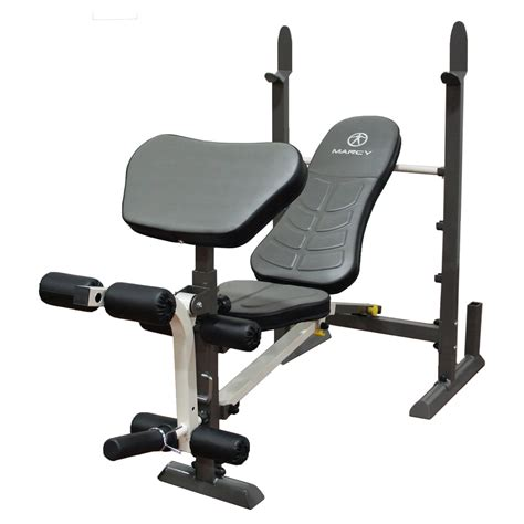 Marcy Folding Standard Weight Bench  Weight Benches At