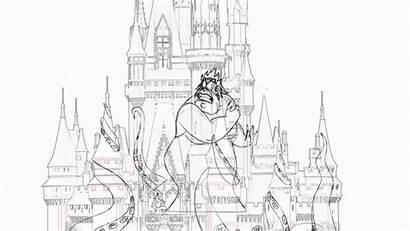 Disney Happily Ever Magic Kingdom Animation Fireworks