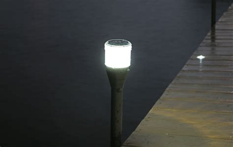 2pk solar dock post lights view all lake lite solar