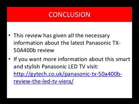 Panasonic Tx50a400b Review  Most Stylish And Sleek Led