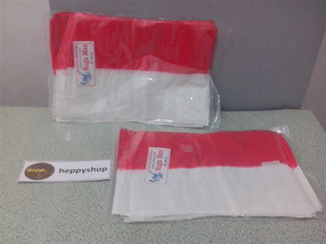 bendera merah putih plastik jual bendera merah putih plastik heppyshop heppy
