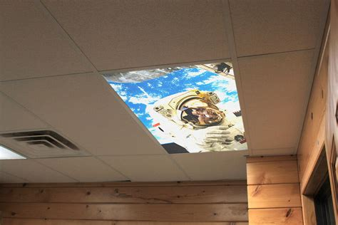 Drop Ceiling Light Covers by Decorative Fluorescent Light Covers Panels Space