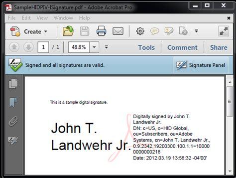 php   adobe reader display  signed panel