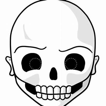 Halloween Masks Printable Hello Scary Mask Skull