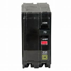 Square D Qo 70 Amp 2-pole Circuit Breaker-qo270cp