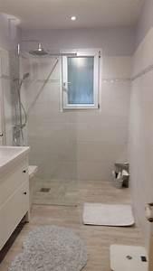 awesome salle de bain imitation parquet gallery With carrelage imitation parquet salle de bain