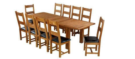 extension dining table barham oak 180 250 cm extending dining table and 10 chairs 4892