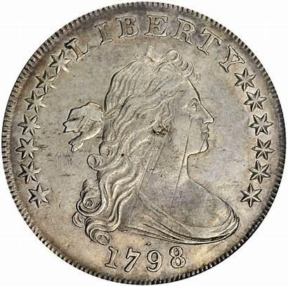1798 Dollar Silver Draped Bust Coin Bb