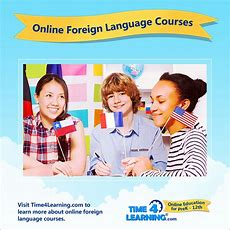 Online Language Learning Time4learning