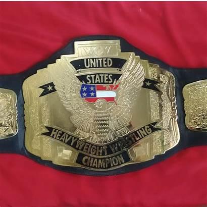 Wcw Championship Heavyweight States United Belt Wrestling