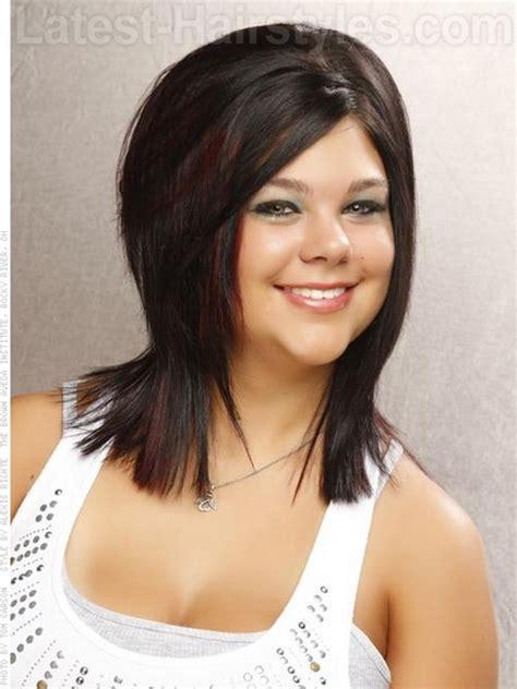 medium length layered hairstyles 2014