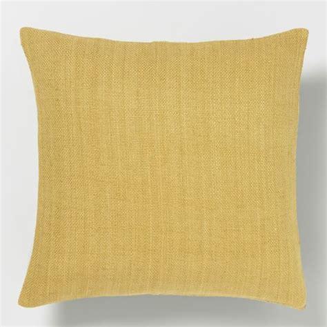 west elm pillows silk loomed pillow cover horseradish west elm