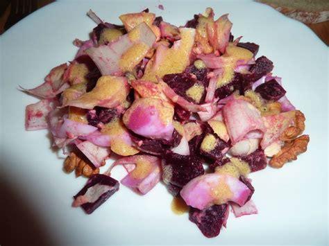 la cuisine d ariane salade d 39 automne betterave endive oeuf dur noix la