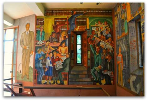 Coit Tower Murals Controversy by Coit Tower Sf Murals Lillie Hitchcock Coit