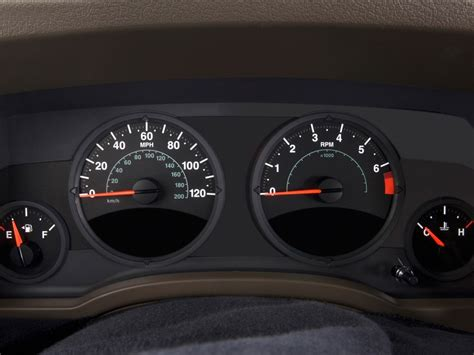 automotive service manuals 2009 jeep liberty instrument cluster image 2009 jeep patriot fwd 4 door limited instrument cluster size 1024 x 768 type gif