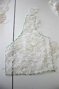 adding a lace overlay to a strapless wedding gownthread With how to make a wedding dress