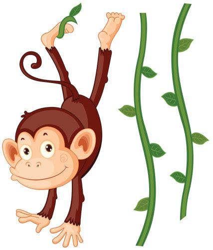 chambre de pompier stickers bb singe achat stickers animaux de la jungle