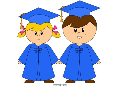 cap clipart kindergarten graduation pencil and in color 685 | graduation clipart childrens 5