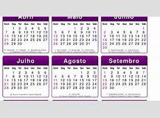 Base de calendario 2013 com feriados e fases da lua PSD