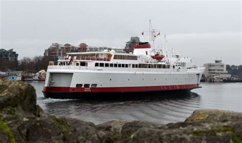 Car Ferry From To Angeles by Coho Ferry Dock Work In Harbour Expected To Start