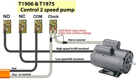 Speed Pool Pump Motor Wiring Diagram Collection