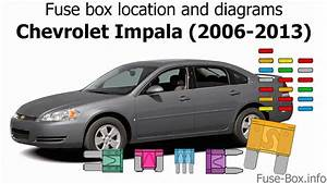 Fuse Box Location And Diagrams  Chevrolet Impala  2006-2013