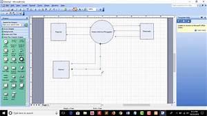 Cara Membuat Diagram Dfd Context Diagram Di Microsoft