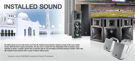 Installed Sound Products Jbl Professional