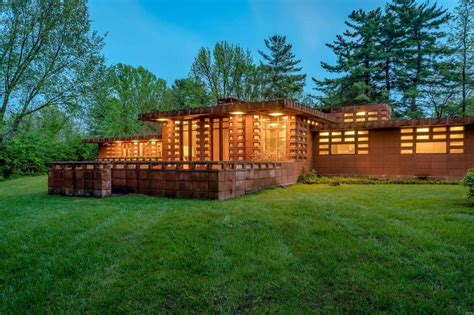 Stunning Frank Lloyd Wright-Designed 'Pappas House' for ...