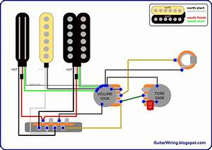 Gibson Electric Guitar Wiring Diagram