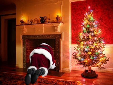 santa in my living room catch santa in your photo your will this