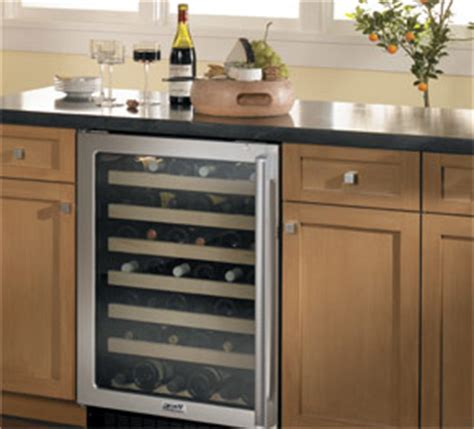Wine Refrigerator Cabinet Built In by Ontario Grapes Wine More
