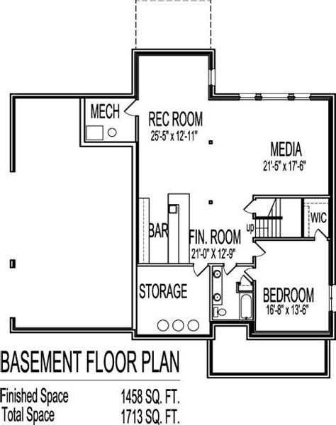 two house plans with basement exceptional 2 house floor plans with basement
