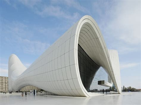 Zaha Hadid on designing the new Heydar Aliyev Center in