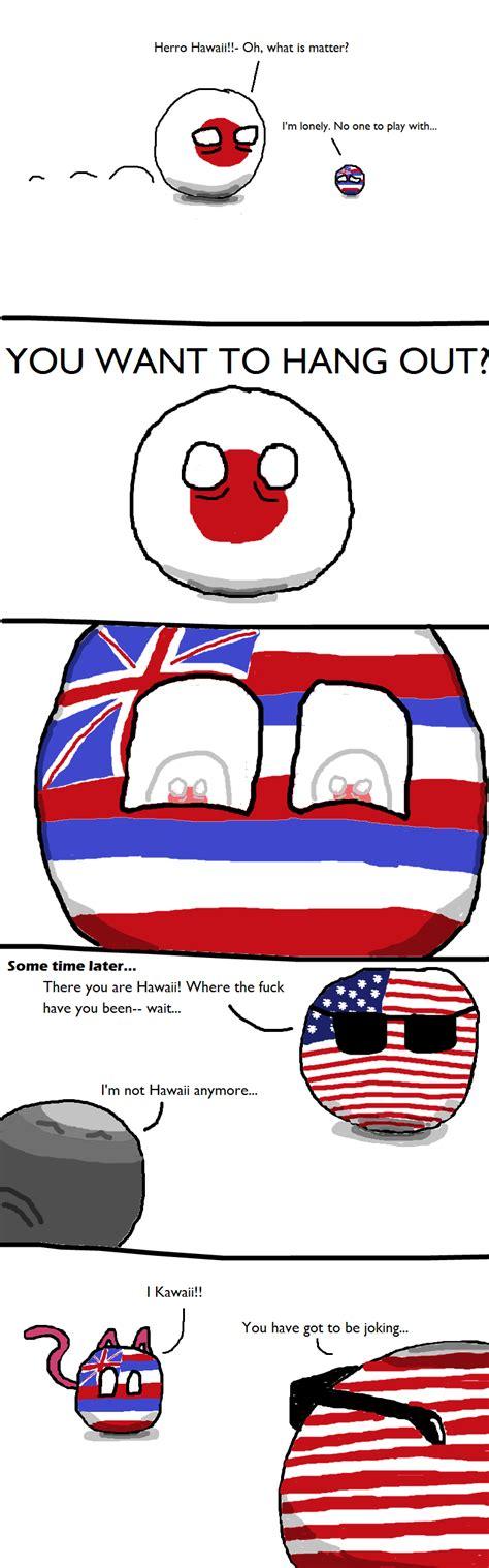 Polandball » Polandball Comics » Hawaii?