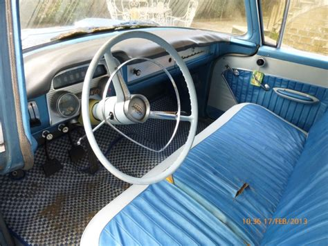 opel rekord interior owner of a opel rekord p1 built between 1957 1962