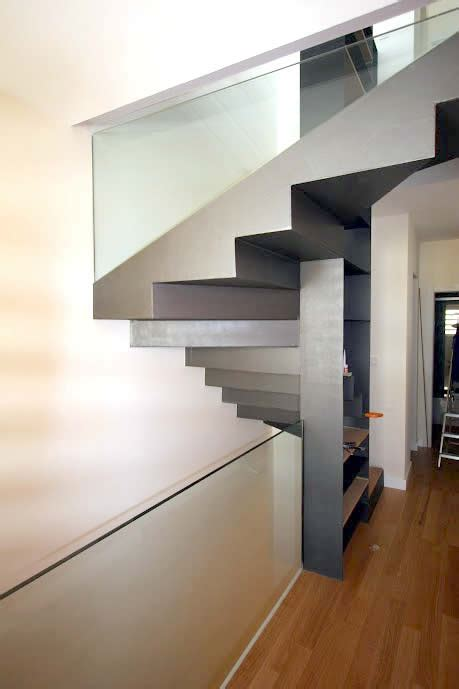 escalera de aluminio  madera carindeco