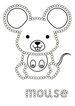 tip fine motor animals dot painting worksheets  spring