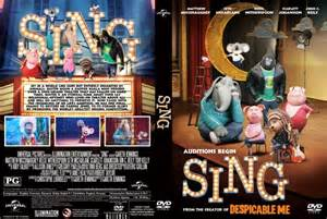 Sing DVD Label Cover Images