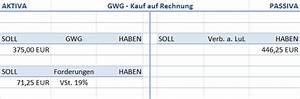 Kauf Auf Rechnung De : buchhaltung anlageverm gen buchen ~ Themetempest.com Abrechnung