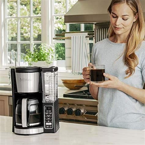 Hamilton beach 12 cup programmable coffee maker, front fill, removable reservoir, model 46203. Ninja 12-Cup Programmable Coffee Maker with Classic and Rich Brews, 60 oz. Water Reservoir, and ...