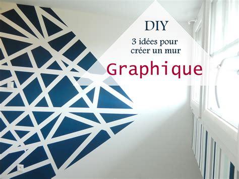chambre avec plafond en pente diy 3 idées pour créer un mur graphique mon carnet déco