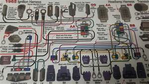 C2 Stock Wiring From Head Light Relay To Head Lights  - Corvetteforum