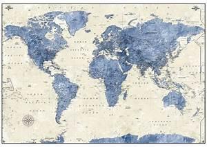 Tapisserie Carte Du Monde : les 74 meilleures images du tableau papier peint sur pinterest papier peint peindre et cartes ~ Teatrodelosmanantiales.com Idées de Décoration