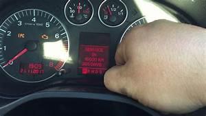 Audi A3 2003 - 2004 Service Light Reset