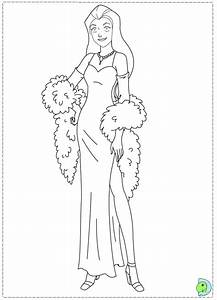 totally spies coloring pages to download and print for free With bjtcurrentsourcecir download the spice file