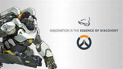 Overwatch Winston Blizzard Entertainment Games Wallpapers Author
