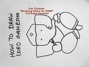 How to Draw- Cute Lord Ganesha Ganpati Step by Step ...