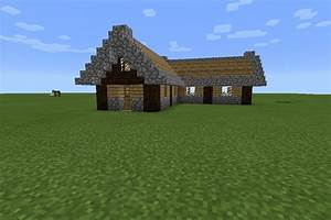 Simple, Minecraft, Cottage, 12, Steps