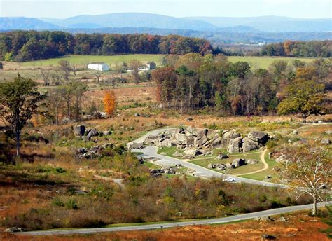 Devil's Den Gettysburg PA